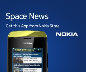 Preview of space news on Nokia Asha 306
